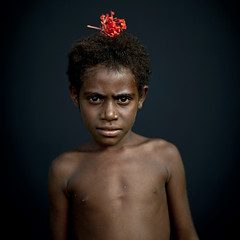 Elegant kid - Papua New Guinea