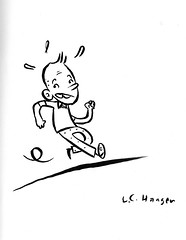 book-two-013-lance-hansen (Leigh Walton) Tags: sketchbook tintin herg spx spx09 lancehansen