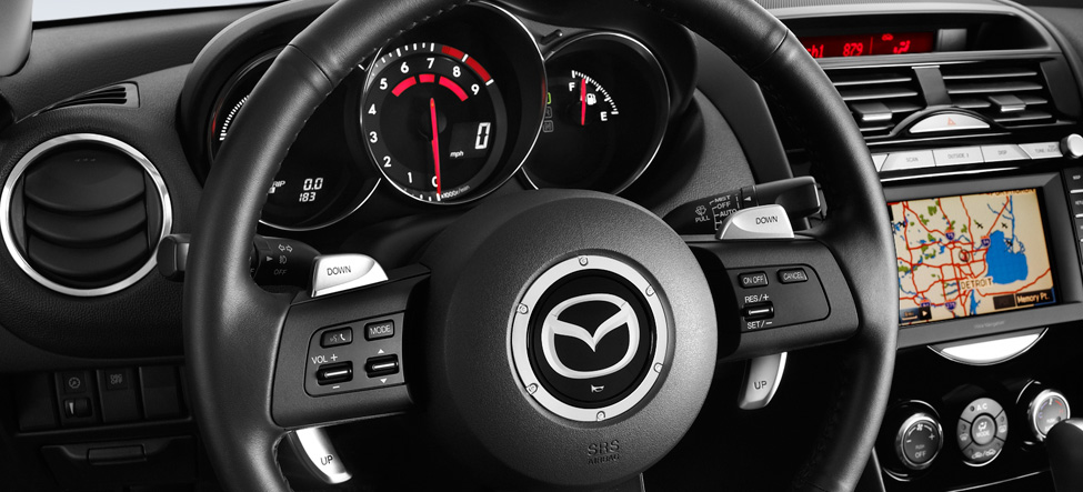 Mazda RX-8 6-speed Sport automatic transmission