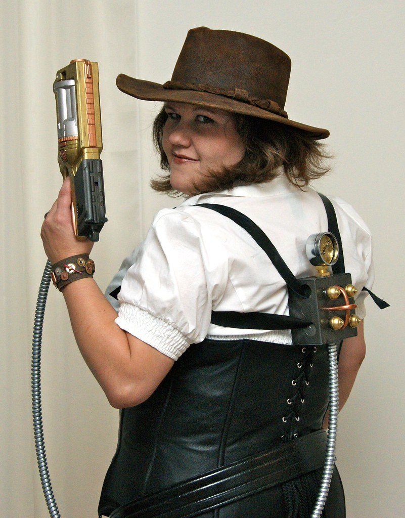 Steampunk Stacey by LauraMoncur from Flickr