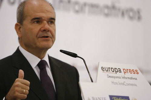 03-11-09 Manuel Chaves, en los desayunos informativos de Europa Press