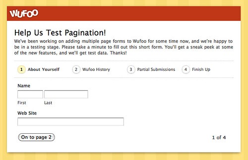 Help Us Test Pagination!