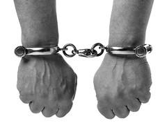 Victorian Handcuffs (Greater Manchester Police) Tags: museum manchester police custody lawandorder cuffs handcuffs gmp prisoner restraints newtonst crimeandpunishment britishpolice manacles ukpolice victorianpolice greatermanchesterpolice greatermanchesterpolicemuseumandarchives victorianhandcuffs unitedkingdompolice victorianpolicing