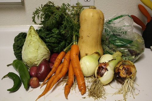 Farm Share Haul, 11/11/09