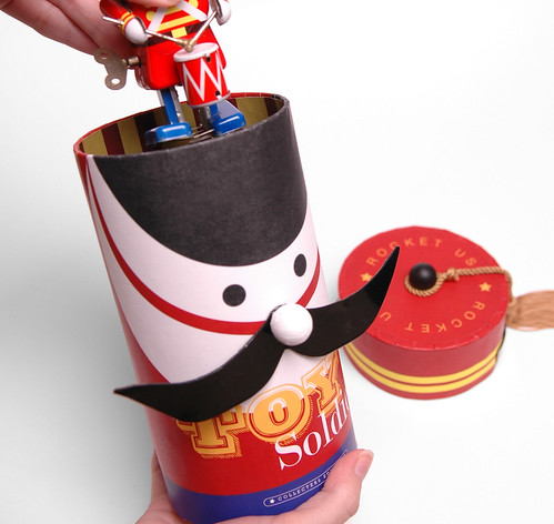 Vintage Toy Soldier: Packaging Design