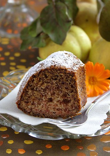 Old Fashioned Quince Cake