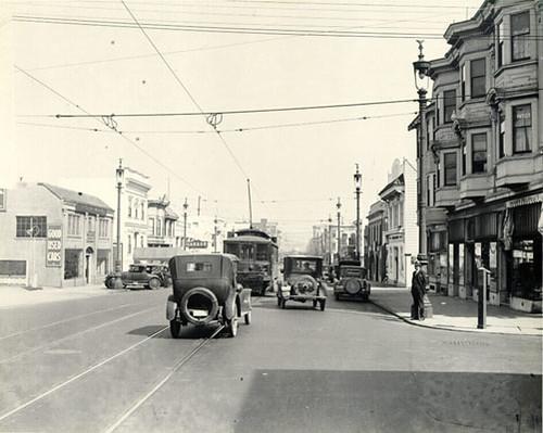 Valencia Street, San Francisco, 1925