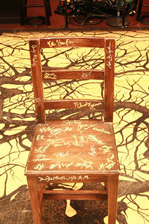 Chair for BC/EFA auction