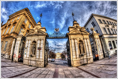 HDR - PL - Warsaw - Uniwerytet.@.1150x765 (Pawel Tomaszewicz) Tags: wallpaper sky cloud sun sunlight building colors beautiful sunshine architecture clouds photoshop canon buildings walking eos photo europe colours view angle image photos quality wide picture poland polska wideangle bluesky ps images x fisheye explore views warsaw 1200 excursions 800 vacations hdr warszawa fable hdri moj iphone pawel wakacje widoki cs3 ipad architektura budynek neatimage chmury 3xp photomatix budynki polskie greatphotographers eos400d hdrextremes 1200x800 photoshopcs3 hdraward tomaszewicz paweltomaszewicz