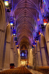 National Cathedral Nave (Sabreur76) Tags: dc washington districtofcolumbia cathedral churches nave hdr episcopal nationalcathedral danbrown vicen photomatix nikond80 feli diamondclassphotographer flickrdiamond cathedralchurchofsaintpeterandsaintpaul mainnave tamron18270 sabreur76 vicenfeli thelostsymbol