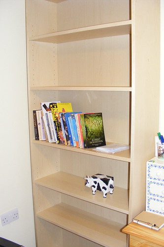 Billy bookcase (and Billy Cow)
