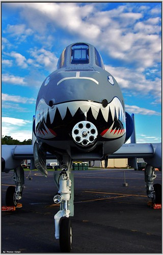Airplane picture - A-10 Thunderbolt II_USAF at Dawn