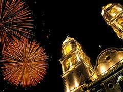 Campeche nocturno - catedral (arosadocel) Tags: catedral templos iglesias campeche nocturno centrohistrico