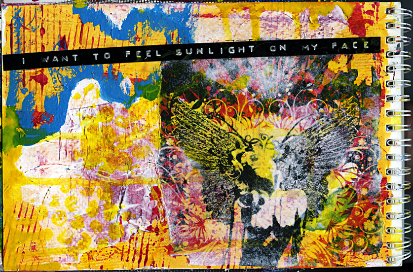 sunlight - Art Journal