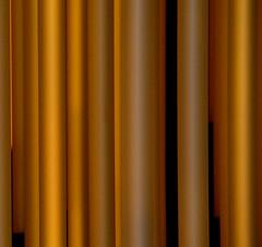 |''|||'||||||'||| (ubichan - Away A LOT :o() Tags: orange brown yellow geotagged lights switzerland rust tubes ceilinglights orchre zurichinternationalairport ukiyoe ubichan ministract macrostract geo:lat=47450902 geo:lon=8562706