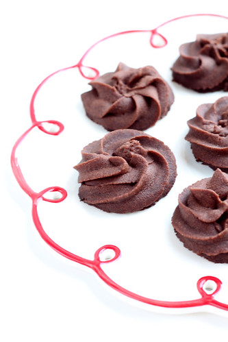 Chocolate sablés