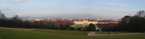 Schönbrunn panorama