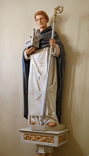 Saint Dominic Roman Catholic Church, in Breese, Illinois, USA - statue 2