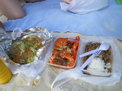 Jonah's 米粉、SMOKE 牛肉飯與炒蝦