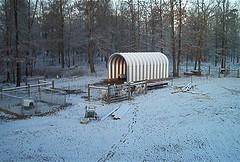 SteelMaster Steel Farm Animal Shelter