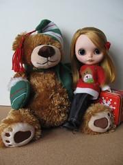 Abby y Fermin el Oso les desean a todas las Blythes del mundo una Feliz Navidad!