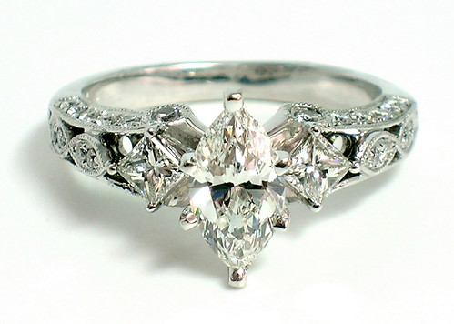 brilliant cut engagement rings. Marquise Brilliant Cut Diamond