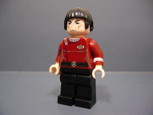 Spock custom minifig