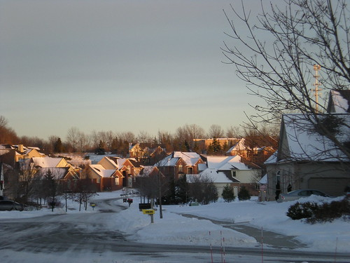 Subdivision at Sunset