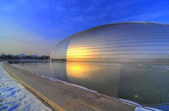 National Grand Theatre  (Ricardson Williams) Tags: china asia beijing hdr pequim ricardson nationalgrandtheatre nikond300 ricardsonwilliams