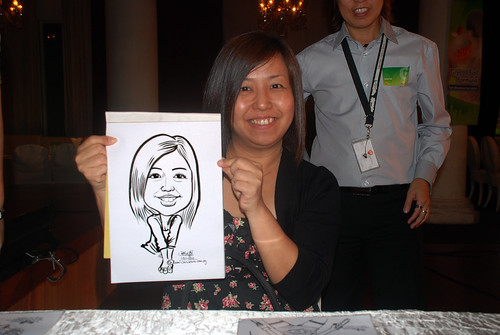 Caricature live sketching for GSK - 8