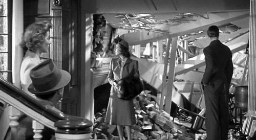 Mrs Miniver, home wreckage