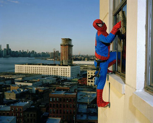 Spiderman Window Cleaner