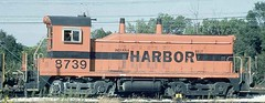 Indiana Harbor Belt Railroad rebuilt EMD NW-2 # 9739 in 1983.