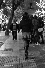 pretty woman (ObiOne 54) Tags: street bw sicily streetphoto sicilia streetview prettywoman sonyalpha obione streetpassion girlssonyalpha thepubbliceye