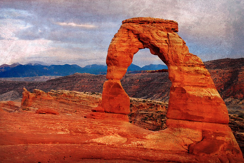 delicate arch like the texture