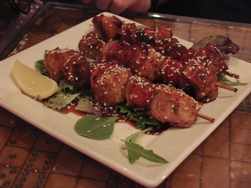 Teriyaki Chicken Skewers from Automatic Slims
