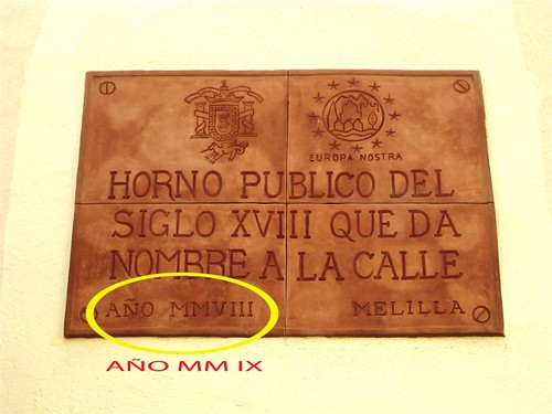Horno del S XVIII, Melilla La Vieja