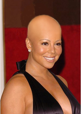 Bald and the Beautiful: Mariah Carey by BeautyXpose