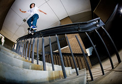 Sean Malto (asmith photography) Tags: lighting city canon magazine photography back published skateboarding aaron smith sean fisheye kansas 5d skateboarder escapist kink asmith malto wwwasmithphotographycom