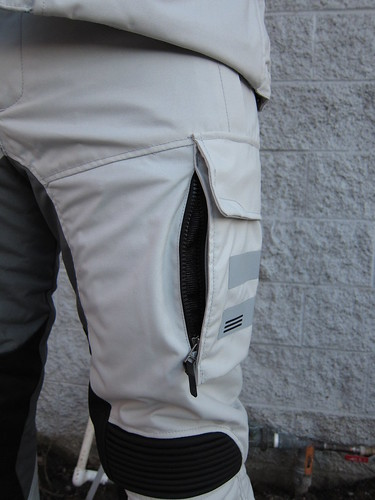Leg vents on SAND pants. They work pretty good, I just wish they incorporated more vents like this into the pant.