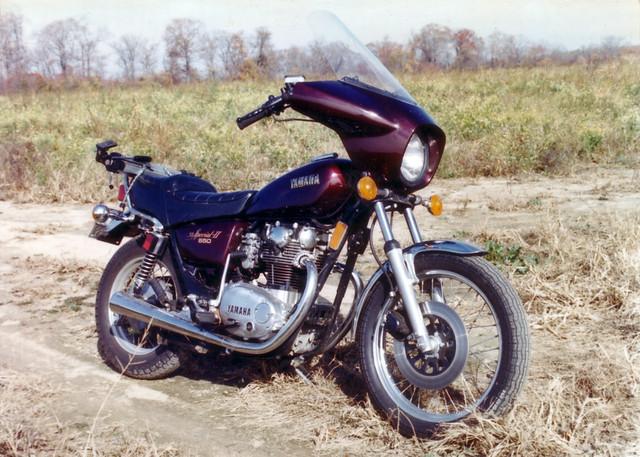 1981 Yamaha XS650 Special II.