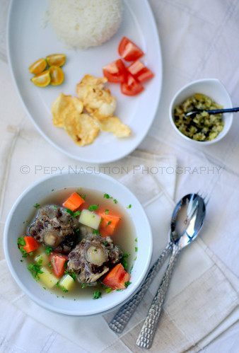 Sop Buntut with Sambal Lado Uap - Day 11 0f 365
