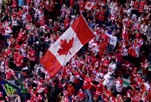 Canada's flag is awesome