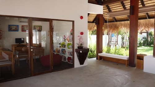 Koh Samui Mimosa Resort-Reception コサムイ ミモザリゾート2
