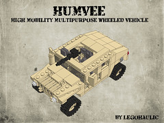 HUMVEE Instructions (Legohaulic) Tags: lego military instructions humvee cad mlcad ldview