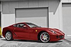 (Talal Al-Mtn) Tags: blue red car canon automobile shot automotive kuwait rims v8 talal q8 kwt 450d canon450d lm10 inkuwait almtn talalalmtn