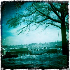 (CatPeters) Tags: winter snow sleepyhollow tarrytown hipstamatic