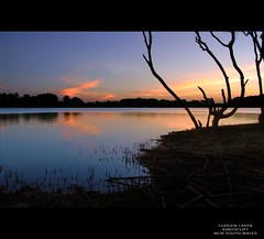 Cudgen Creek Kingscliff (whoops vision) Tags: sunset mountains tree water clouds creek reflections river twilight sand shoreline nsw mangroves riverbank kingscliff tweedcoast colouredsky superaplus aplusphoto cudgencreek cudgencreekkingscliff
