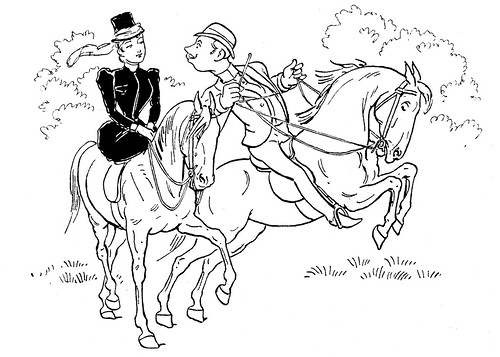 horses coloring pages. Horse Coloring Page