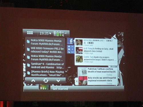 Nokia N900 Screen